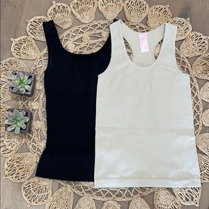 Bundle up with two tank tops